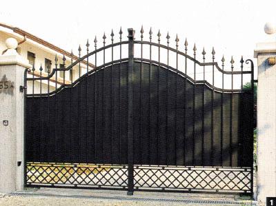 Sostituzione cancelli Castel di Guido